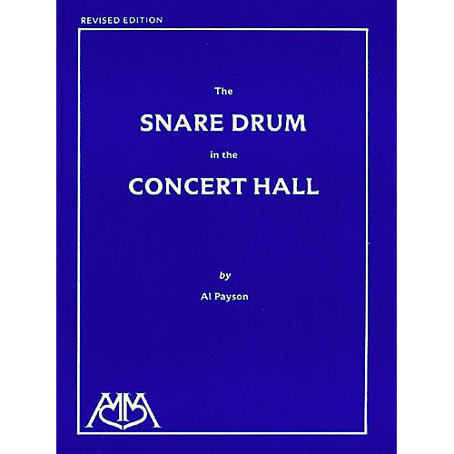 Meredith Music Snare Drum In The Concert Hall