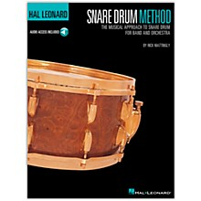 Hal Leonard Snare Drum Method Book/CD