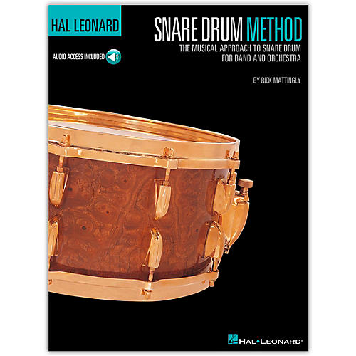 Hal Leonard Snare Drum Method Book/CD