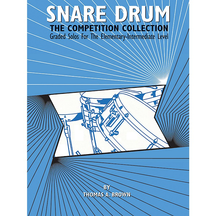 Alfred Snare Drum The Competition Collection Book