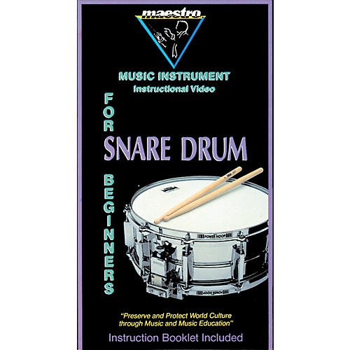 MVP Snare Drum for Beginners Video with Book
