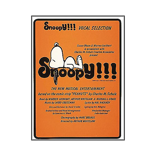 Hal Leonard Snoopy arranged for piano, vocal, and guitar (P/V/G)-thumbnail