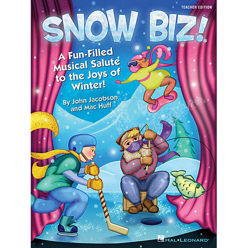 Hal Leonard Snow Biz! (A Fun-Filled Musical Salute to the Joys of Winter) PREV CD Composed by John Jacobson-thumbnail