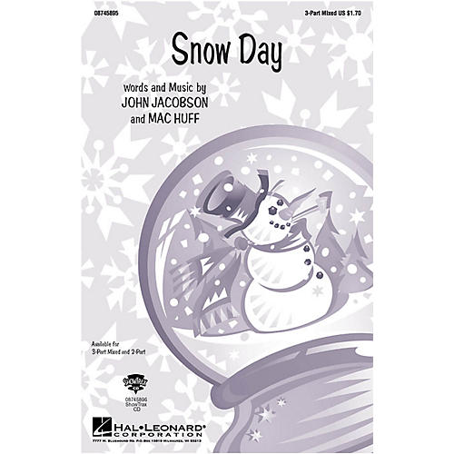 Hal Leonard Snow Day 2-Part Composed by John Jacobson-thumbnail
