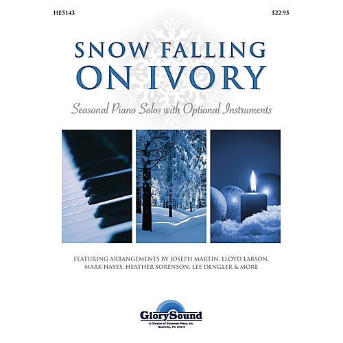 Shawnee Press Snow Falling on Ivory (Seasonal Piano Solos with Optional Instruments)-thumbnail