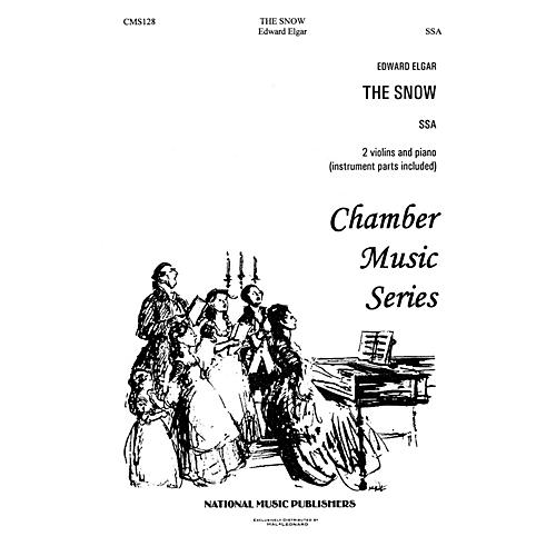 Hal Leonard Snow, The SSA composed by Robert Carl-thumbnail