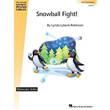 Hal Leonard Snowball Fight! Piano Library Series by Lynda Lybeck-Robinson (Level Late Elem)