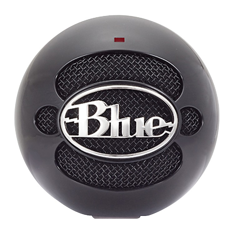 Blue Snowball USB Microphone Gloss Black
