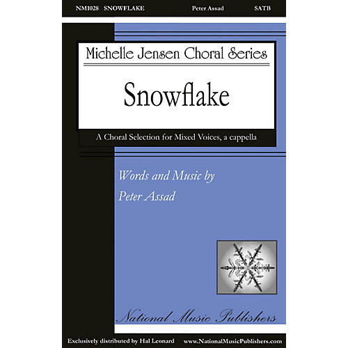 National Music Publishers Snowflake SATB a cappella composed by Peter Assad-thumbnail