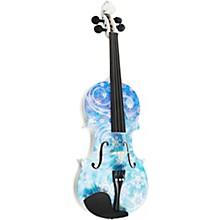 Rozanna's Violins Snowflake Series Violin Outfit 1/2 Size