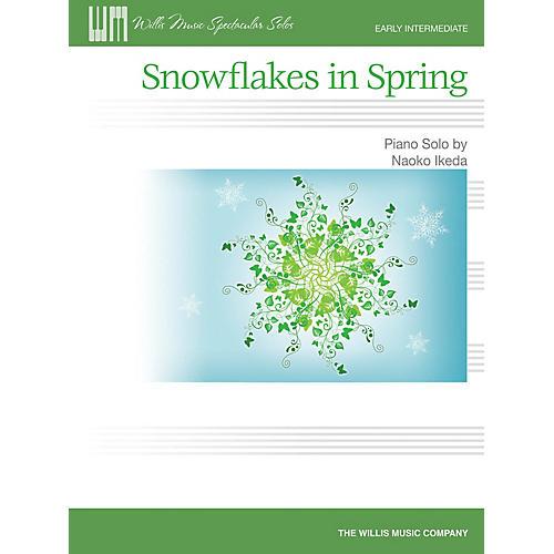 Willis Music Snowflakes in Spring (Early Inter Level) Willis Series by Naoko Ikeda-thumbnail