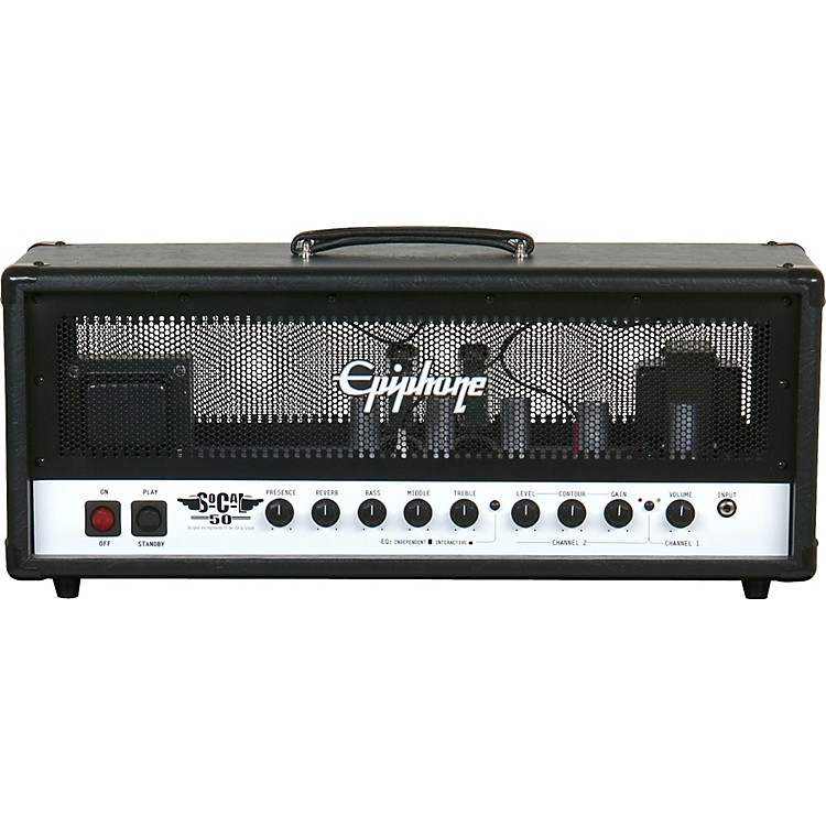 Epiphone So Cal 50 Watt Amp Head