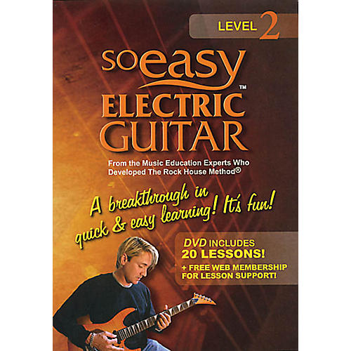 Rock House So Easy Electric Guitar - Level 2 Rock House Series DVD Written by John McCarthy-thumbnail