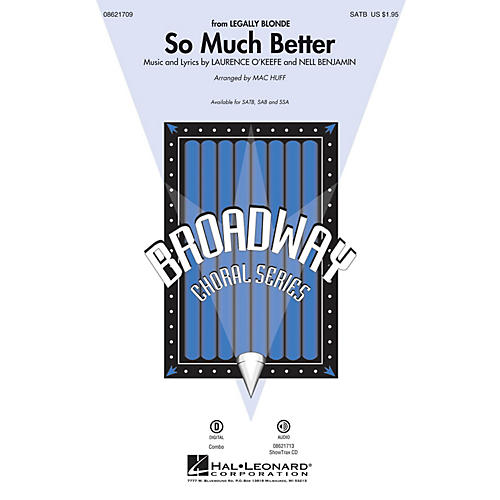 Hal Leonard So Much Better (from Legally Blonde) SAB Arranged by Mac Huff-thumbnail