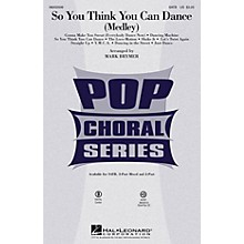 Hal Leonard So You Think You Can Dance (medley) ShowTrax CD by Various Arranged by Mark Brymer