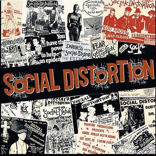 C&D Visionary Social Distortion Magnet - Newspaper-thumbnail