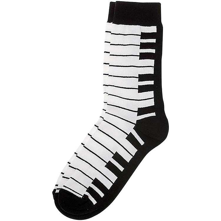 AIM Socks Women's Keyboard Black