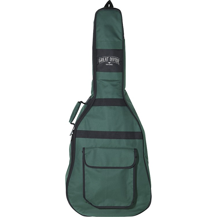Great Divide Soft-Padded Backpack-Style Acoustic Guitar Gig Bag (Orchestra)