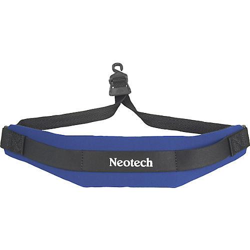 Neotech Soft Sax Strap Royal Blue Regular, Open Hook
