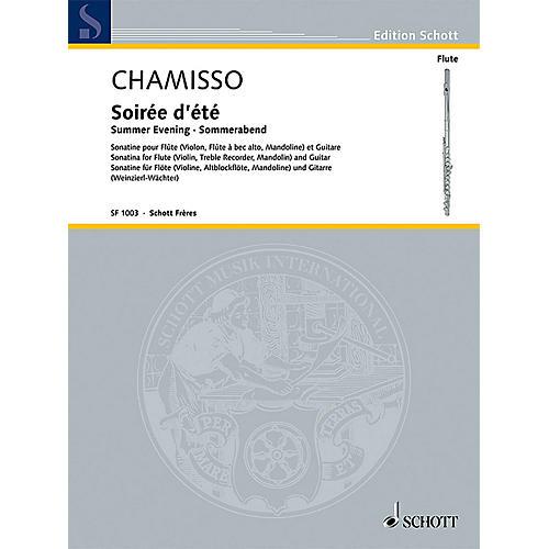 Schott Soirée d'été (Summer Evening) Schott Composed by Olivier Mayran de Chamisso Edited by Elisabeth Weinzierl-thumbnail