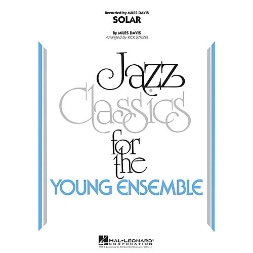 Hal Leonard Solar - Jazz Classics For The Young Ensemble Level 3
