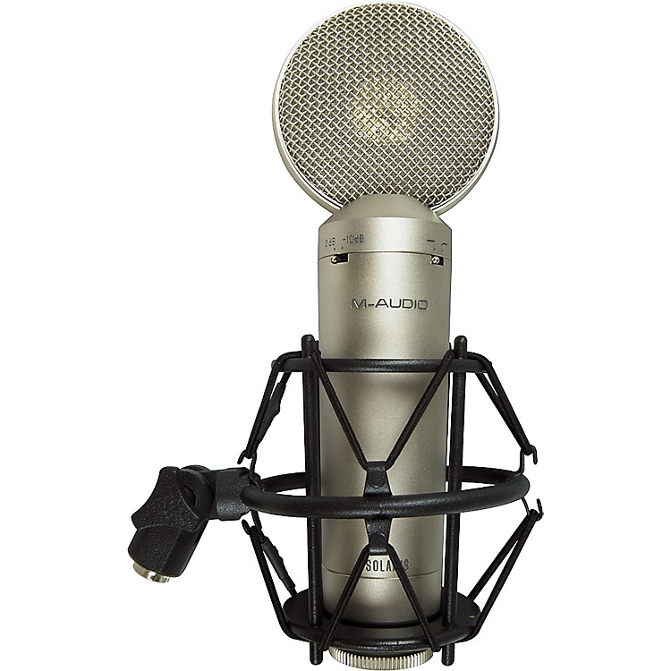 M-Audio Solaris Large-Diaphragm Multi-Pattern Condenser Microphone