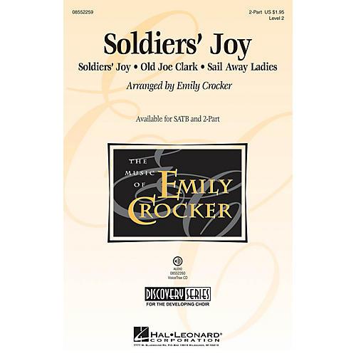 Hal Leonard Soldiers' Joy (Discovery Level 2) 2-Part arranged by Emily Crocker-thumbnail