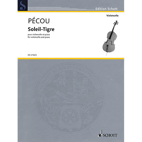 Schott Soleil-Tigre (Cello and Piano) String Series Softcover-thumbnail