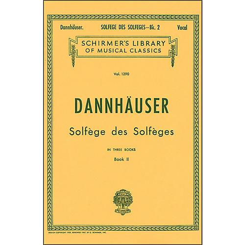 G. Schirmer Solfege Des Solfeges Book 2 Vocal by Dannhauser-thumbnail
