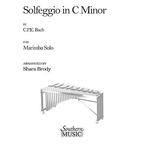 Hal Leonard Solfeggio In C Minor (Percussion Music/Mallet/marimba/vibra) Southern Music Series by Sharda Brody-thumbnail