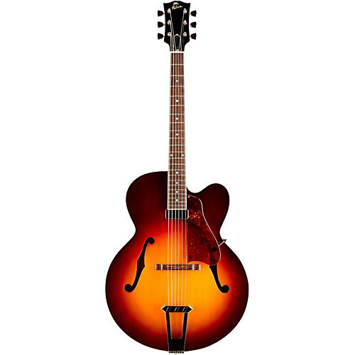 Gibson Custom Solid-Formed 17 Venetian Cutaway Archtop Hollowbody Electric Guitar-thumbnail
