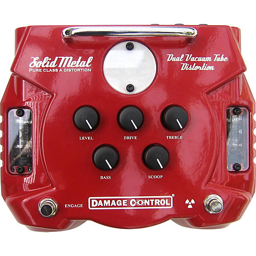 Damage Control Solid Metal Dual Tube Distortion Pedal-thumbnail