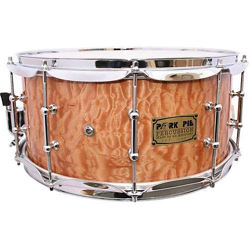 Pork Pie Solid Quilted Maple Snare Drum-thumbnail