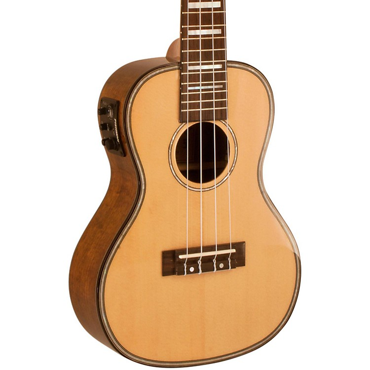 Lanikai Solid Spruce Top Concert Ukulele with USB Koa