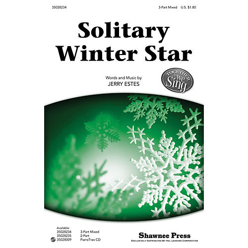 Shawnee Press Solitary Winter Star (Together We Sing Series) 3-Part Mixed composed by Jerry Estes-thumbnail