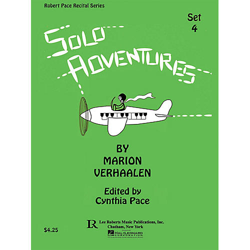 Lee Roberts Solo Adventures - Set 4 Pace Piano Education Series Composed by Marion Verhaalen-thumbnail