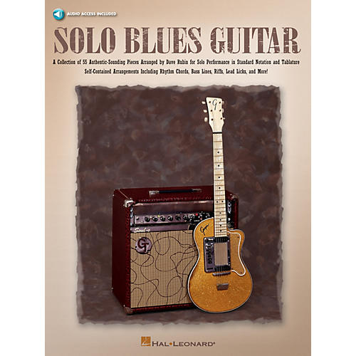 Hal Leonard Solo Blues Guitar Guitar Collection Series Softcover Audio Online Written by Dave Rubin-thumbnail
