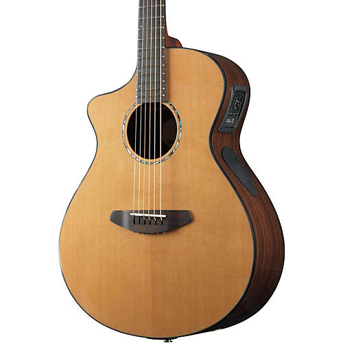 Breedlove Solo Concert Left-Handed Acoustic-Electric Guitar-thumbnail
