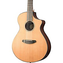 Breedlove Solo Concert Nylon CE Western Red Cedar - East Indian Rosewood Acoustic-Electric Guitar Gloss Natural