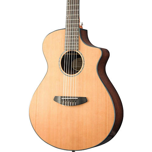 Breedlove Solo Concert Nylon CE Western Red Cedar - East Indian Rosewood Acoustic-Electric Guitar-thumbnail