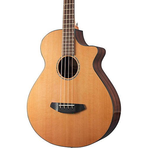 Breedlove Solo Jumbo Bass CE Western Red Cedar - East Indian Rosewood Acoustic-Electric Bass-thumbnail
