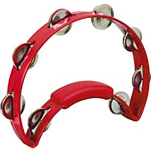 RhythmTech Solo Tambourine Red