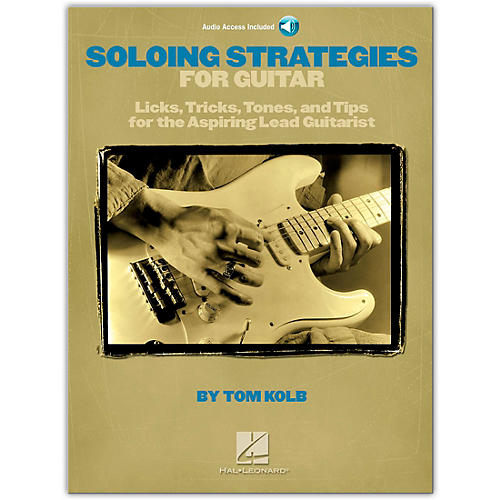 Hal Leonard Soloing Strategies for Guitar - Book/CD