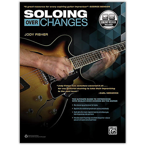 Alfred Soloing over Changes Book & Online Audio-thumbnail