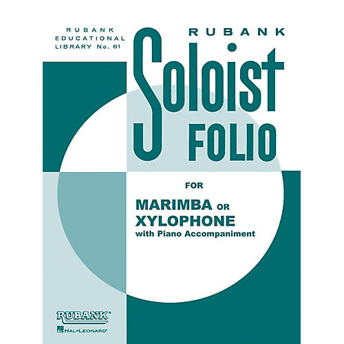 Hal Leonard Soloist Folio Xylophone Or Marimba with Piano