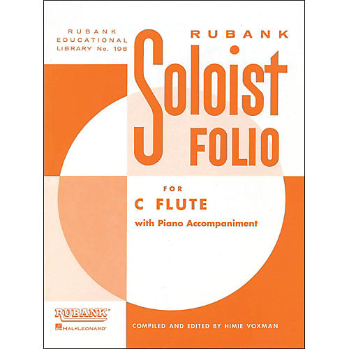 Hal Leonard Soloist Folio for C Flute with Piano