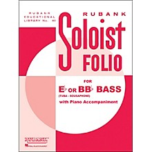 Hal Leonard Soloist Folios - Bass ( E Flat Or Bb Flat) And Piano