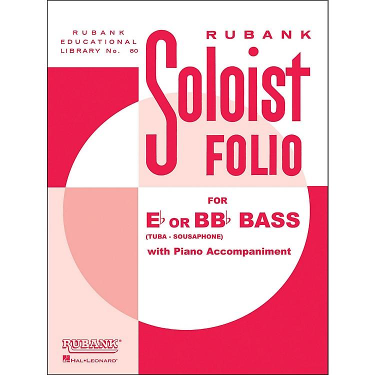 Hal LeonardSoloist Folios - Bass ( E Flat Or Bb Flat) And Piano