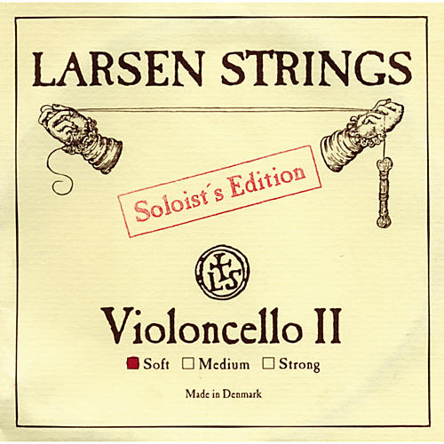 Larsen Strings Soloist Series Cello Strings D, Soloist, Medium