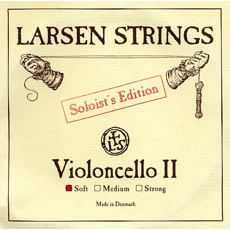 Larsen Strings Soloist Series Cello Strings G, Soloist, Medium